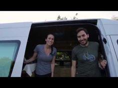 Sprinter Van Conversion - Van Life Tour - Sprinter Van Diaries - YouTube