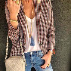C a s u a l @obsessingoverstyle Vintage Chanel bag #zara #sandroparis #chanel via ✨ @padgram ✨(http://dl.padgram.com)