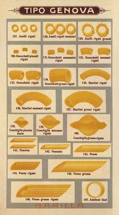 Various types of pasta Distintos tipos de pasta Subido de Pinterest. http://www.isladelecturas.es/index.php/noticias/libros/835-las-aventuras-de-indiana-juana-de-jaime-fuster A la venta en AMAZON. Feliz lectura.