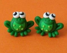 diy clay frog - Google Search