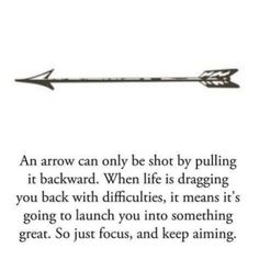an arrow pulled back is ready to launch