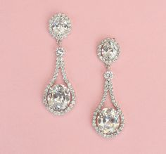 #Bridal Drop #Earrings