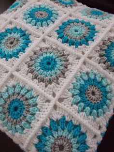Trendy Ideas For Crochet Baby Blanket Free Pattern Granny Square Color Combo. Trendy Ideas For Crochet Baby Blanket Free Pattern Granny Square Color Combos patterns blanket color combos Crochet Baby Blanket Free Pattern, Crochet Motifs, Granny Square Crochet Pattern, Afghan Crochet Patterns, Crochet Squares, Knitting Patterns, Free Crochet, Baby Patterns, Motifs Granny Square