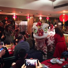 #Celebrating the Year of the Monkey with #Chinese Lion #Dancing! Wishing everyone #happiness #prosperity #good fortune and good health from Mala Sichuan! #LionDance #malasichuanldn #chinesenewyear #cny2016 #londonevents #londonrestaurants #london #iglondon #fun #spicyfood by malasichuan