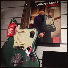 Fender Johnny Marr Jaguar Sherwood Green