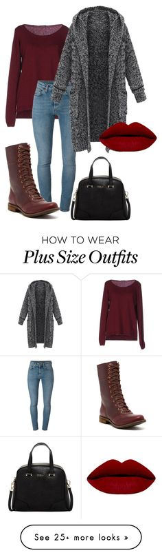 """Instead I dress like "" by peiweishei on Polyvore featuring Fred Perry, Yves Saint Laurent, Timberland, Furla, women's clothing, women's fashion, women, female, woman and misses"