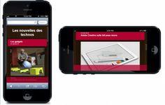 Le nouvel outil pour créer des sites Web pour les appareils mobile: Mobile Creator