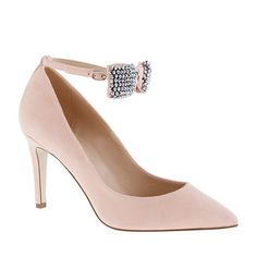 Collection Everly crystal bow-tie pumps - pumps & heels - Women's shoes - J.Crew