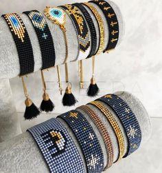 Tentacles bracelet, bead loom pattern, wristband pattern, wrist cuff pattern for Miyuki Delica seed beads Loom Bracelet Patterns, Bead Loom Bracelets, Bead Loom Patterns, Woven Bracelets, Jewelry Patterns, Beading Patterns, Stretch Bracelets, Beading Ideas, Seed Bead Jewelry