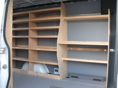 dodge sprinter van shelfs | Wood shelving/storage - Sprinter-Forum