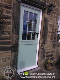 Solidor Beeston Timber Composite Door in Chartwell Green