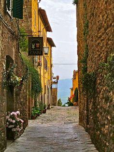Pienza, province of siena , Tuscany, Italy