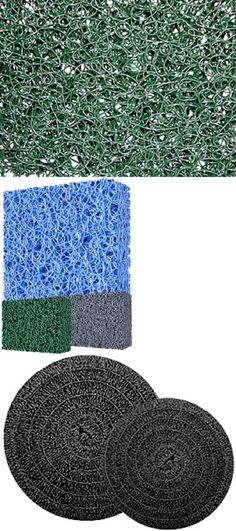 "Matala 4-Pack Gray//Blue//Green//Black Filter Mats 24/""x24/"" replacement pond media"