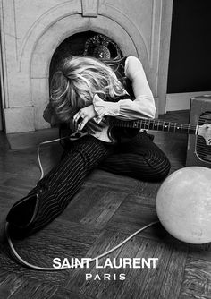 Courtney Love, Marilyn Manson Lead Saint Laurent Rock Star Campaign. http://news.radio.com/2013/04/02/style-files-courtney-love-marilyn-manson-lead-saint-laurent-rock-star-campaign/