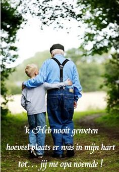 Wat een opa en oma voelen is met geen pen te beschrijven!