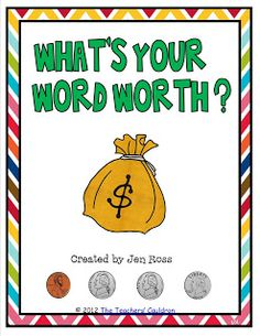 Spelling and money math