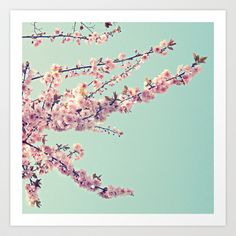 Beautiful Spring Art Print by simplyhue - $12.48