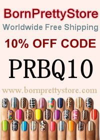 Born Pretty Store See more nail care products on nail dryer shop Nail Polish Blog, Best Gel Nail Polish, Pretty Nail Art, Cool Nail Art, Pretty Makeup, Opi, Das Experiment, Firework Nails, Nail Water Decals