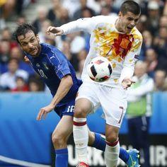 Marco #Parolo contro Alvaro #Morata