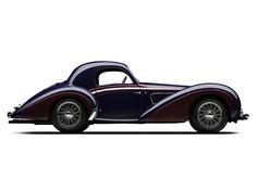 Delahaye 145 Coupe par Chapron '1938