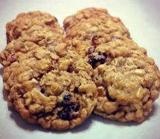 Chewy Cranberry Oatmeal Cookies.