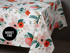Rifle Paper Company tablecloth for Bhldn