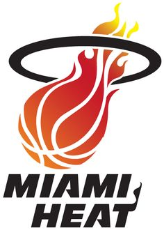 Miami Heat Logo Art Wallpaper