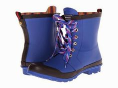 Tommy Hilfiger Renegade (Bright Blue) Women's Lace-up Boots Cyber Monday Black Friday Walmart Women's Lace Up Boots, Shoe Boots, Ankle Boots, Wide Calf Boots, Cool Style, My Style, Me Too Shoes, Rubber Rain Boots, Calves