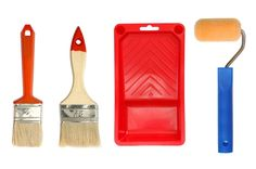 House Painting Tools Decorating Interior Design