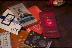 """Le coffret """"Hivernal"""": avec Dammann, Caron... Un coffret de thé pour Noël, par www.alunithe.com"""