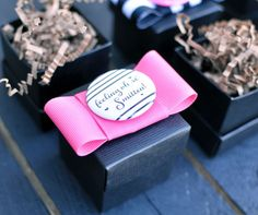 The Not Wedding: Favor Boxes