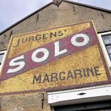 Jurgens' SOLO Margarine ghost sign