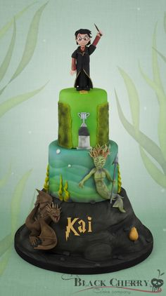 Harry Potter and The Goblet of Fire Cake