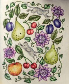 bloomstermandala, maria trolle, fruits, cats