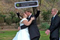 'Achievement Unlocked' Wedding
