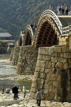 The Old Samurai Bridge. Japan. Google +