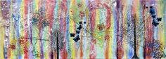 NEW PAINTING  Rainbow III  40x120 cm  My website: https://artbylonfeldt.dk/  #art #arts #paintings #painting #fineart #artbylonfeldt