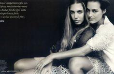 Yasmin and Amber Le Bon for Monsoon spring/summer 2013