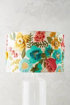 Anthropologie Gardengrown Lamp Shade