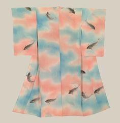 Yuzen-dyed Taisho Kimono