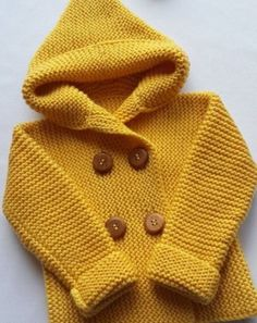 Knitted baby cardigan, hat # baby Knitting baby shoes very easy to… Christmas gnome hand-knitted Crochet Baby Cardigan, Baby Cardigan Knitting Pattern, Baby Boy Knitting, Knit Baby Sweaters, Crochet Jacket, Knitting For Kids, Baby Knitting Patterns, Baby Patterns, Knit Jacket