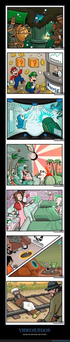 Video games save the world Video Game Logic, Video Games Funny, Video Game Art, Funny Games, Memes Lol, Bioshock, Gaming Memes, Pokemon, Cultura Pop