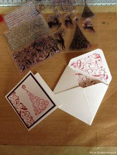 Klein kaartje met bijpassende enveloppe
