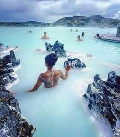 Places to visit: Blue Lagoon. If you are looking for places to visit: La Laguna Azul put it in your preferences. Places Around The World, Oh The Places You'll Go, Travel Around The World, Amazing Places To Visit, Wonderful Places, Beautiful Places To Travel, Destination Voyage, Iceland Travel, Greenland Travel