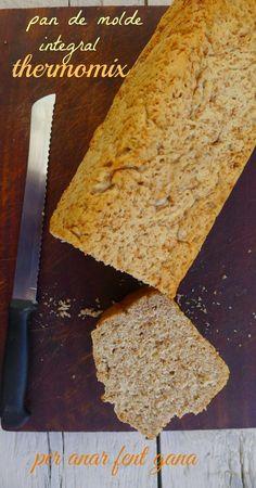 habéis sido muchos que me habéis pedido la receta de este pan integral hecho en thermomix     así que os la pongo al completo.    necesitam...