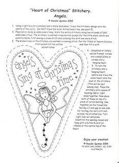 heart of christmas ~ rosaliequinlan designs