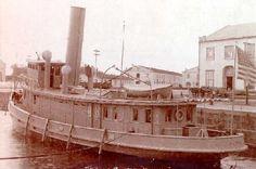 el Guardacostas Hudson, anteriormente un remolcador.