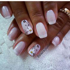 📸 enviada pela nossa seguidora @anaaraujounhas 👈segue lá vc vai amar..😍 segue também nossas ADM👇👇👇 . @bianedesigner @fabimoreiraramos… Short Nail Designs, Toe Nail Designs, Nail Swag, Nail Tattoo, Fabulous Nails, Creative Nails, Nail Trends, Nail Arts, Short Nails