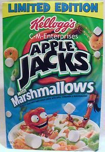 Apple Jacks with marshmallows, not as good as Oreo's cereal but still really good!!