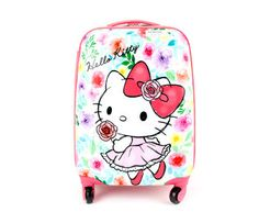 Hello Kitty Rolling Luggage: Floral